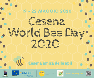 Cesena World Bee day 2020