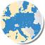 Pubblicata online la mappa dei partner europei del Comune di Cesena