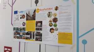 Il poster BeePathNet a Torino